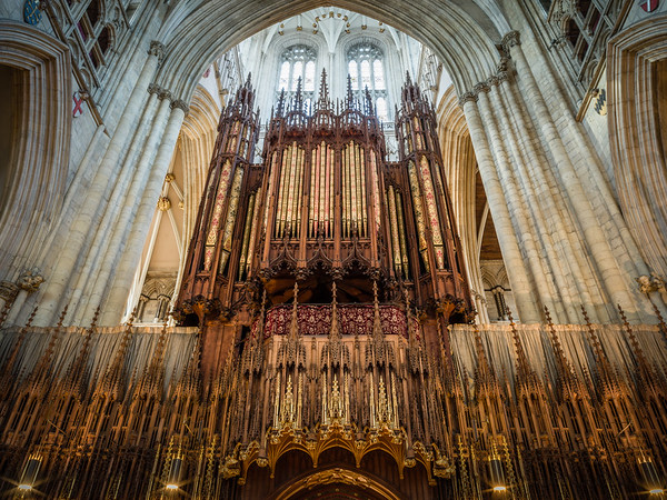The Organ, York Minster