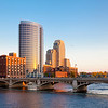 Skyline of Grand Rapids, Michigan.