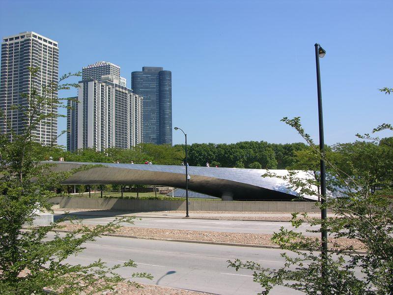 Bridge over Columbus Dr.