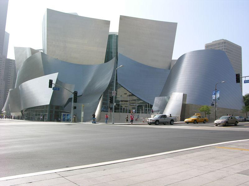 Walt Disney Concert Hall by Frank Ghery