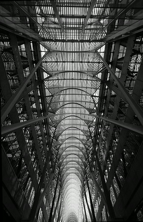 Allan Lambert Galleria, Brookfield Place, Toronto - architect Santiago Calatrava