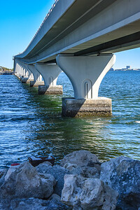 Causeway Over Old Tampa Bay 2/26/17