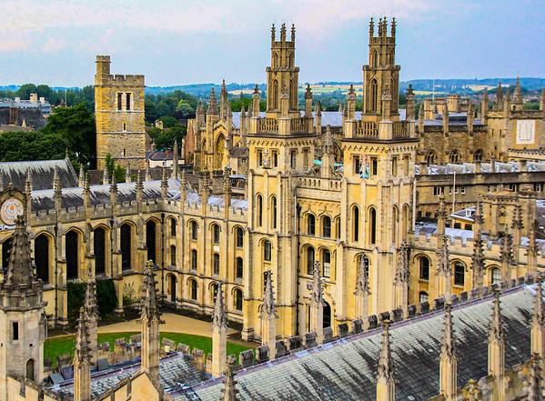 Cupolas, Oxford, UK