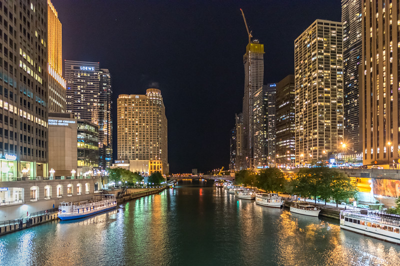 Chicago River Skyline 9/13/18