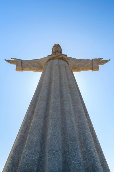 Cristo Rei monument in Lisbon