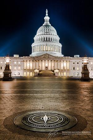 United States Capitol || Washington, D.C., USA  Canon EOS 6D w/ EF24-105mm f/4L IS USM: 32mm @ 15.0 sec, f/10, ISO 100