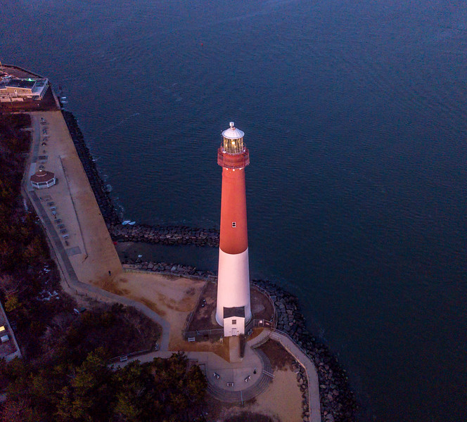 Aerial View of Barnegat Lighthouse 1/21/18