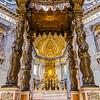 St. Peter's Basilica    Vatican City, Vatican City<br /> <br /> Canon EOS 6D w/ EF24-105mm f/4L IS USM: 24mm @ ¹⁄₁₃ sec, f/4, ISO 1600