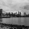 Brooklyn Bridge and NYC Skyline 1/28/17