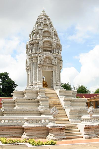 Stupa at the Royal Palace