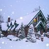 Snow-Covered St. Catherine's Chapel, Farmingdale, NJ
