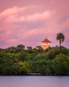 Maralago Tower Above Mangroves