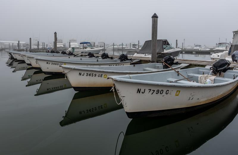 Foggy Morning at Belmar Marina 10/10/18