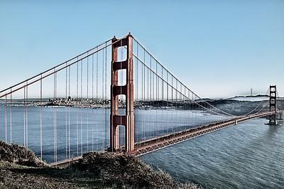 Golden Gate in Contrast