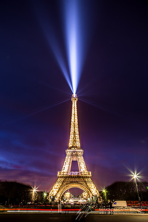 Eiffel Tower || Paris, France  Canon EOS 6D w/ EF24-105mm f/4L IS USM: 24mm @ 15.0 sec, f/9, ISO 100