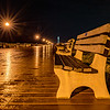 Rain Cover Boardwalk in Ocean Grove 6/18/18