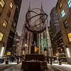 A Statue of Atlas In Front of St. Patrick's Cathedral in New York City 1/28/20