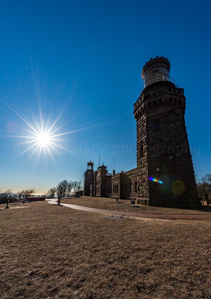 Twin Lights Lighthouse 1/26/18