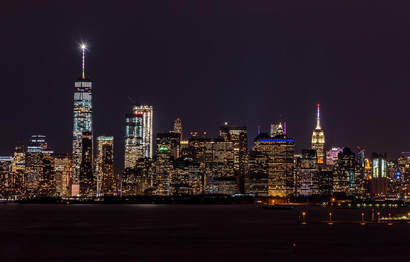 New York City Skyline 1/12/17