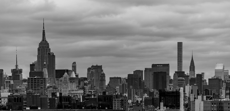 New York City Skyline 1/28/17