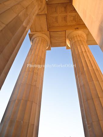 Lincoln Memorial Corner Columns