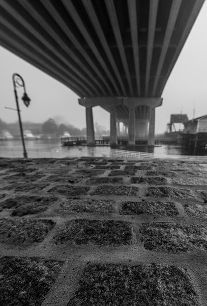 Foggy Morning Under Belmar Bridge 10/10/18