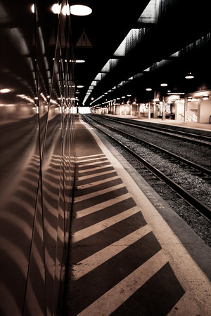Train tracks, Union Station, Toronto.