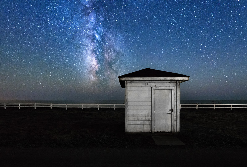 Night Shack, Point Arena, California