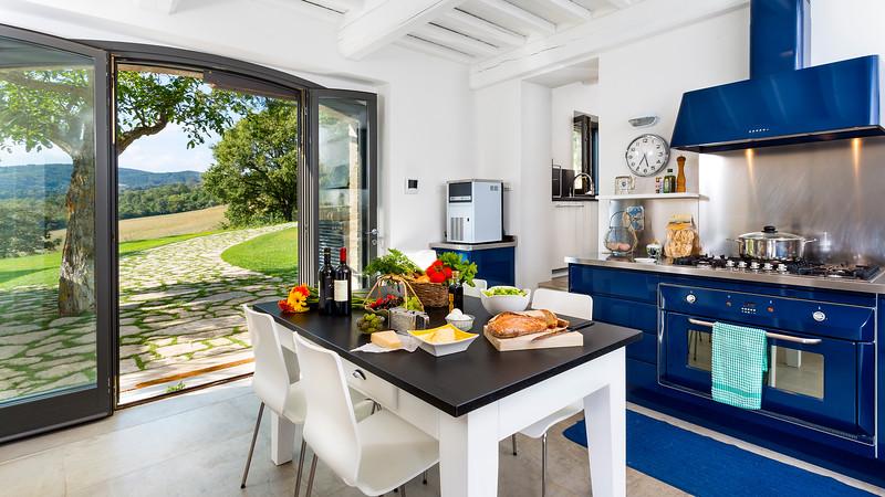 Kitchen; Tuscany, Italy