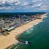 Aerial View Of Asbury Park Beach 6/30/20