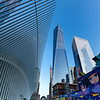 The Oculus Transportation Hub & Freedom Tower 7/24/21
