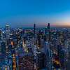 Chicago Skyline at Dusk 9/13/18