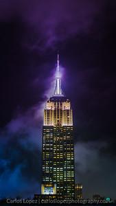 Empire State - Purple