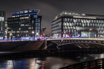 Berlin, an der Kronprinzenbrücke