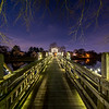 Foot Bridge Over Lake, Spring Lake, NJ