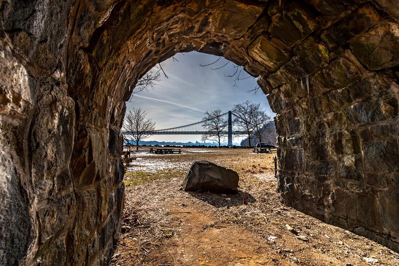 A Tunnel Overlooking The George Washington Bridge 2/2/19