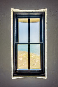 Lighthouse Window, Study 1, Point Arena Lighthouse