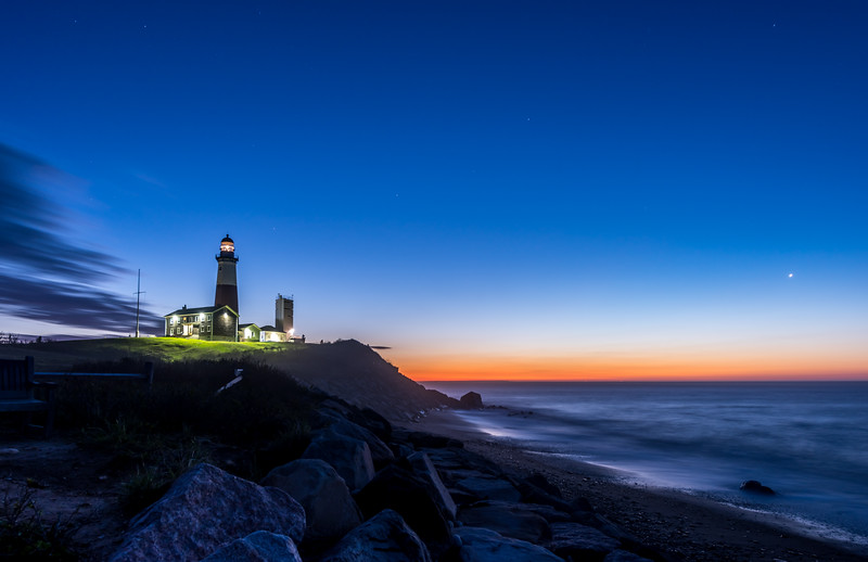 Predawn Colors Over Montauk Point Lighthouse 5/3/17