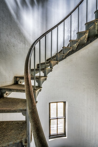 Lighthouse Stairs, Study 1, Point Arena Lighthouse