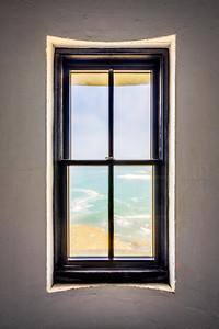 Lighthouse Window, Study 3, Point Arena Lighthouse