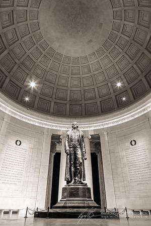 Thomas Jefferson Memorial || Washington, D.C., USA  Canon EOS 6D w/ EF24-105mm f/4L IS USM: 24mm @ 8.0 sec, f/10, ISO 100