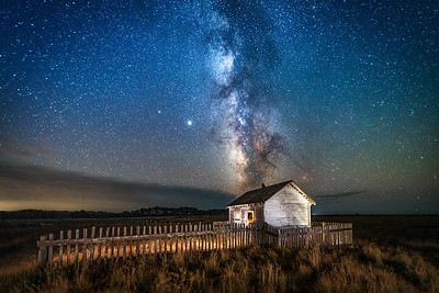 Point Arena Cabin & Milky Way