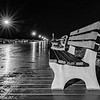 Rain-Covered Boardwalk in Ocean Grove 6/18/18