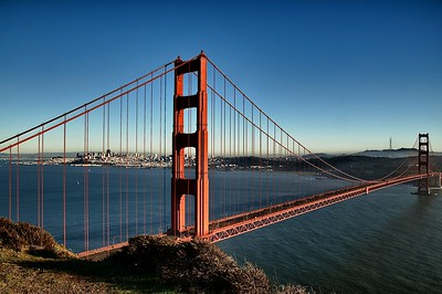 Golden Gate from the Bluff 2