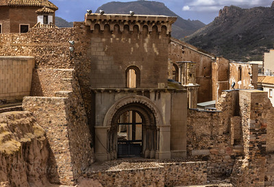 Roman Theatre Excavation - Cartagena, Spain