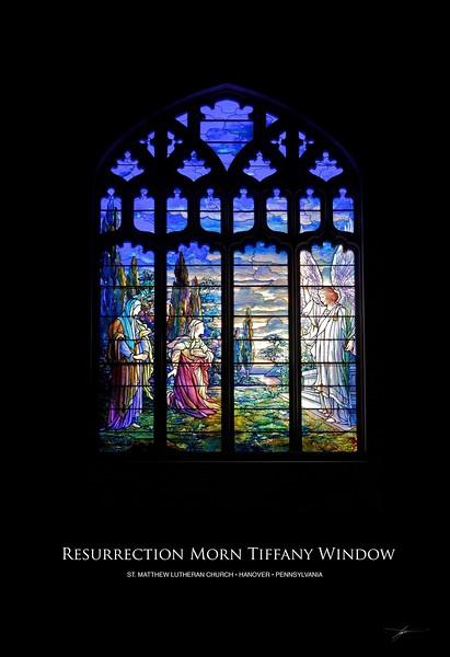 Resurrection Morn Tiffany Window