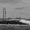 Rough Seas at Shark River Inlet 3/3/18