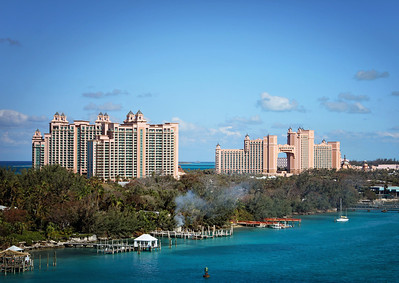 A view of Atlantis from the ship...Nassau, Bahamas