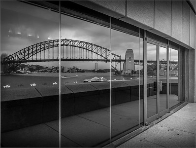 Sydney Harbour Bridge Reflection