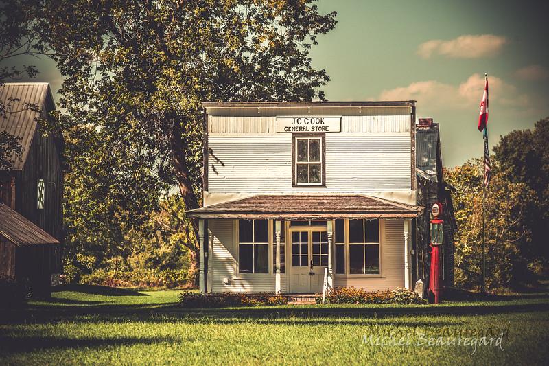 J.C.Cook general store